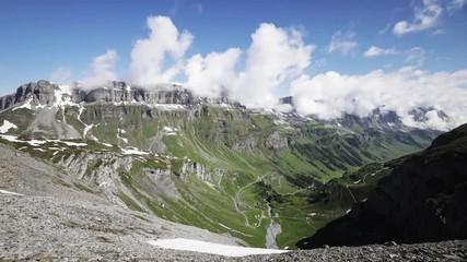 Fotoväggar - Zeitraffer Schweizer Alpen