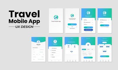 Travel Mobile App UX Design
