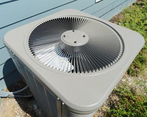 Residential HVAC compressor unit vent