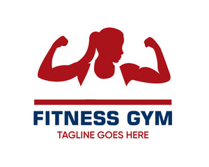 Fitness Logo Design Template-Design For Gym and Fitness-Vector