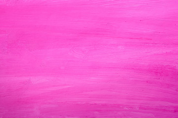 Pink background painted with paints on white paper.Blank, design, element.