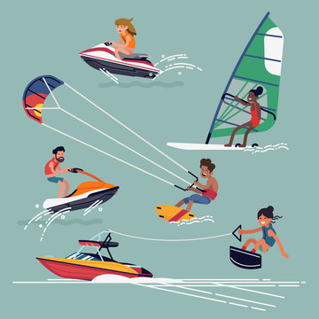 Water sports and activities