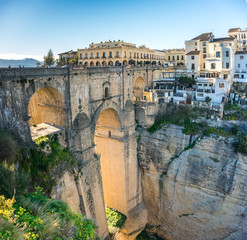 Puente Nuevo Bridge and town Ronda, Andalusia, Spain