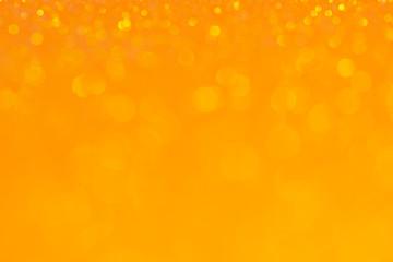 Abstract Bokeh Circle Orange Background