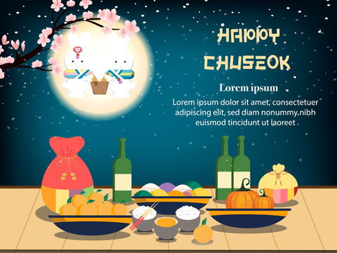 Chuseok banner design