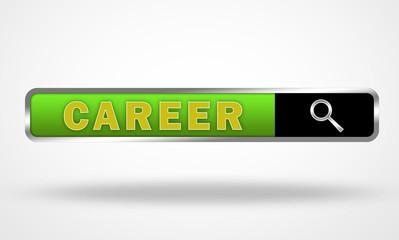 Career text bar concept illustration