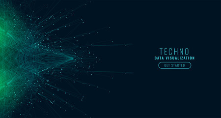 science digital big data technology background