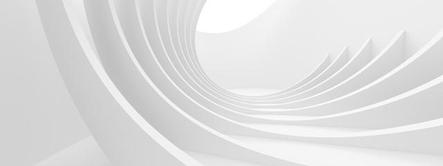 Fotobehang - Abstract Monochrome Background. Minimal Futuristic Design