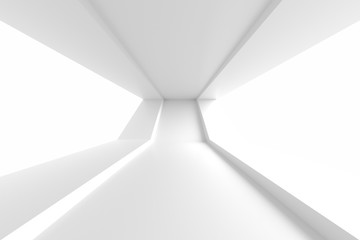 Fotobehang - Abstract Technology Background. Minimal Architecture Design