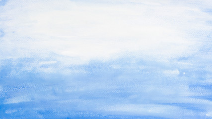 Blue marine water colors background