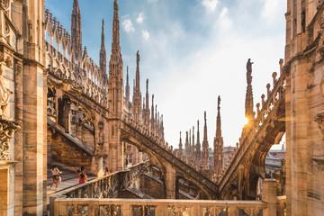 Keuken foto achterwand Milan Duomo di Milano, Milan Cathedral, Milan, Lombardy, Italy