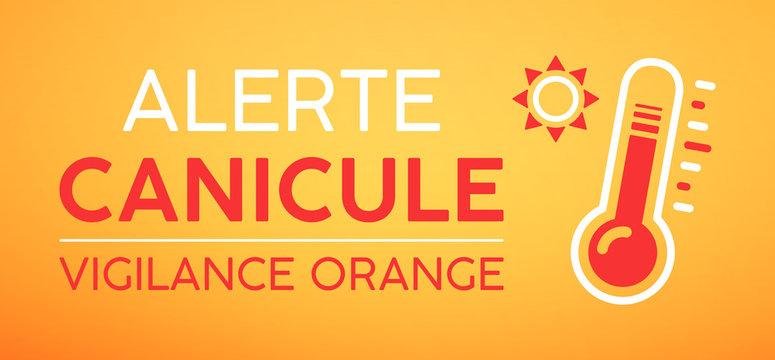 Alerte canicule, vigilance orange