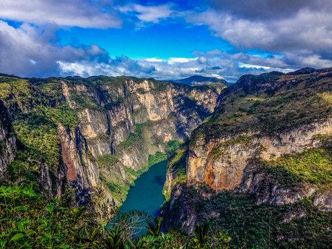 Grijalva River, Sumidero Canyon, Mexico