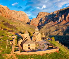 Noravank Monastery in Southern Armenia taken in April 2019\r\n' taken in hdr