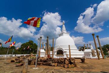 Fotomurales - Thuparama dagoba in Anuradhapura, Sri lanka.