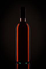 Flasche Wein Rotwein