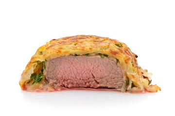 Lammfleisch Filet im Kartoffelmantel