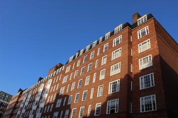 Londres, façades.