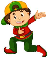 Papiers peints Jeunes enfants A boy with elf costume