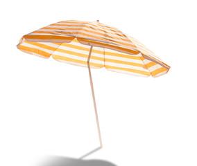 Obraz umbrella isolated on white background - fototapety do salonu