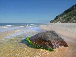 Wyspa Wolin - Woliński Park Narodowy Plaża Klif Kamień
