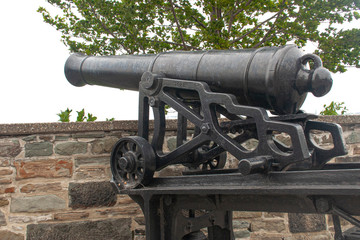 Cannon on the outskirts of Quebec, Canada