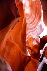 Spoed Foto op Canvas Antilope Antelope Canyon, near Page, Arizona, USA. Sandstone formations on Navajo nation