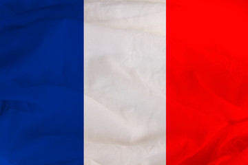 national flag of France, a symbol of vacation, immigration, politics