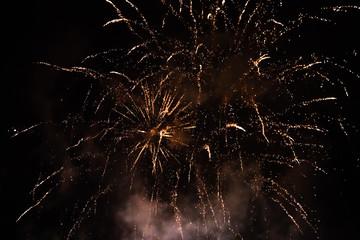 Firework in Tivoli, Copenhagen