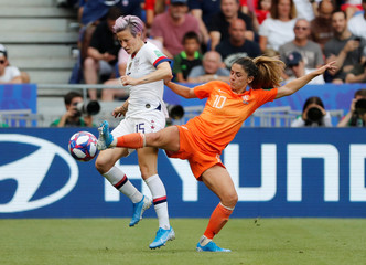 Women's World Cup Final - United States v Netherlands