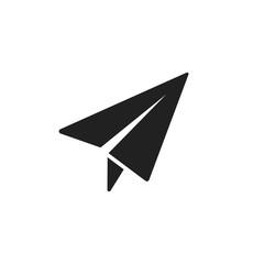 Paper plane icon design. Vector.