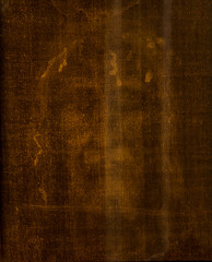 Turin Italy, June 27, 2019: Face of Jesus Christ in the shrine of the shroud in the church of Saint John in Turin