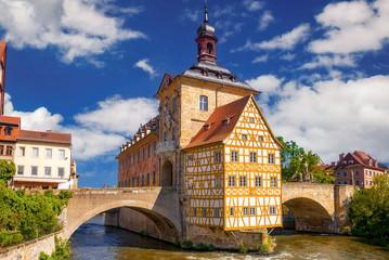 Altes Rathaus vom Bamberg in der Regnitz, Oberfranken, Bayern