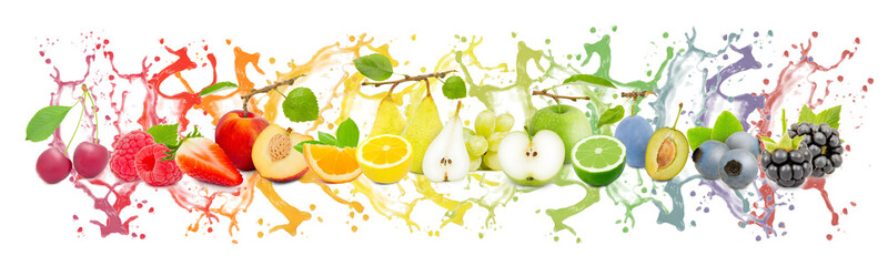 Fruit Splash Collection Wall mural