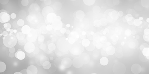 white blur abstract background. bokeh christmas blurred beautiful shiny Christmas lights Fototapete