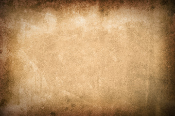 Spoed Fotobehang Retro Old paper vintage texture background