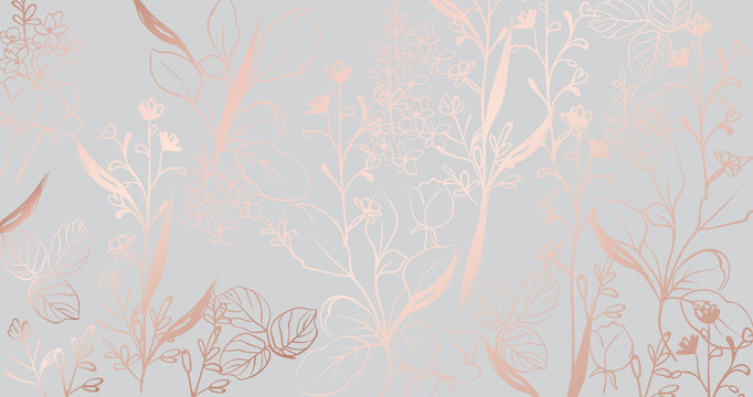 Vintage golden marble pattern Vector. Beautiful glossy texture. golden gray structure decors