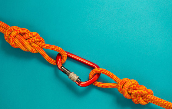 Equipment for climbing and mountaineering.