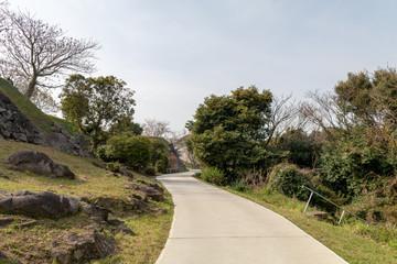 名護屋城の道中