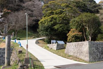 名護屋城の入り口
