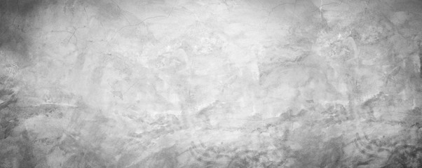 Fototapete - white  and gray cement wall texture vintage background