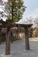 唐津城の鳥居