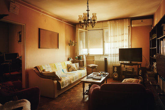 Old Living Room Interior