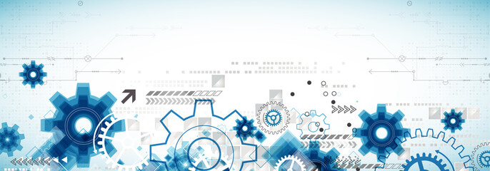 Abstract technology business background Fototapete