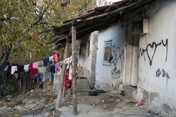 abandoned hous in ankara