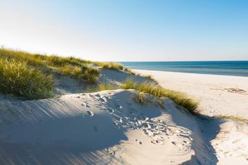 Czołpino wydma wydmy morze bałtyckie bałtyk piasek plaża