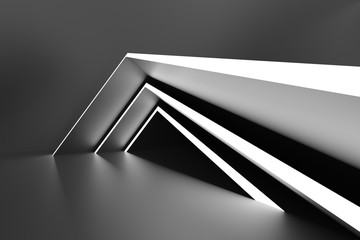 Fotobehang - Abstract Modern Background. Minimal Architecture Design