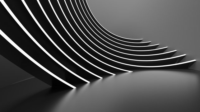 Abstract Architecture Background. Minimal Graphic Design