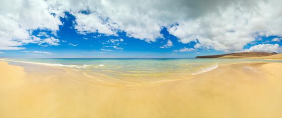 panorama - beautiful beach on Fuerteventura