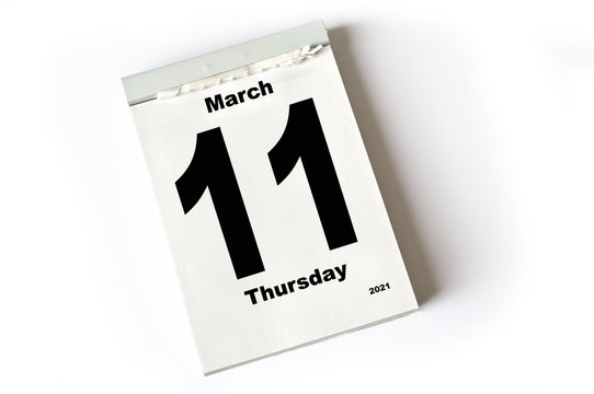 11. March 2021